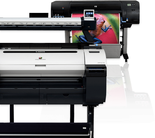 Canon Large Format iPF 670 plotter for business