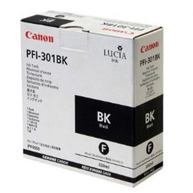 Canon Ink Tank - PFI-301 - iPF 8000 8000S 9000 9000S - 330ml - BLACK