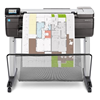 HP DesignJet T830 Multifunction Printer (24 in) F9A28A